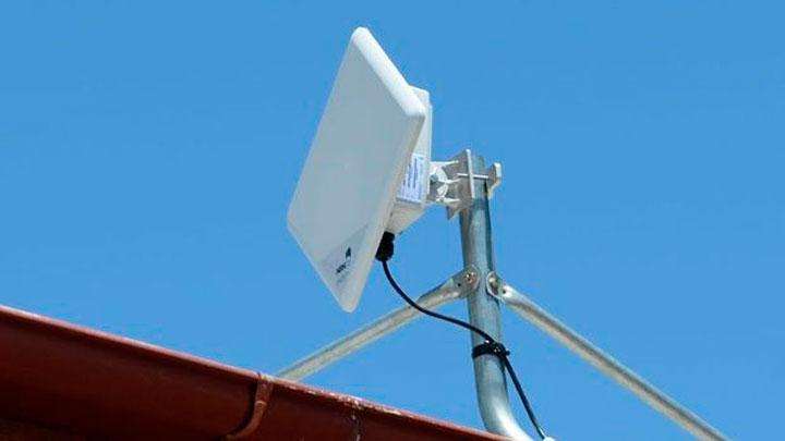 Antena internet via rádio