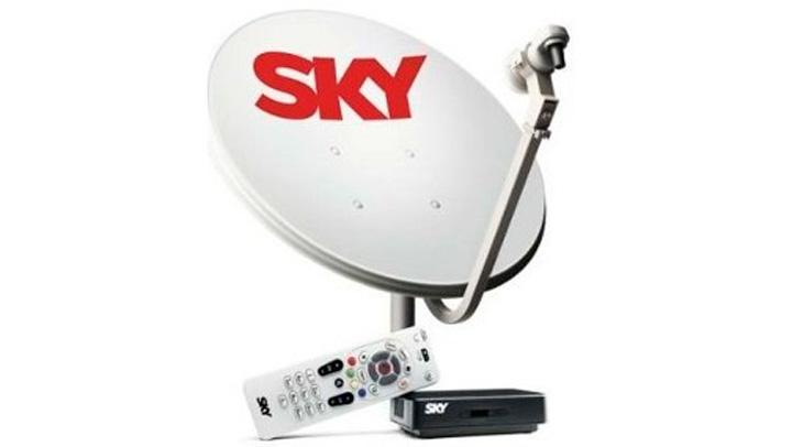 antena SKY pré pago