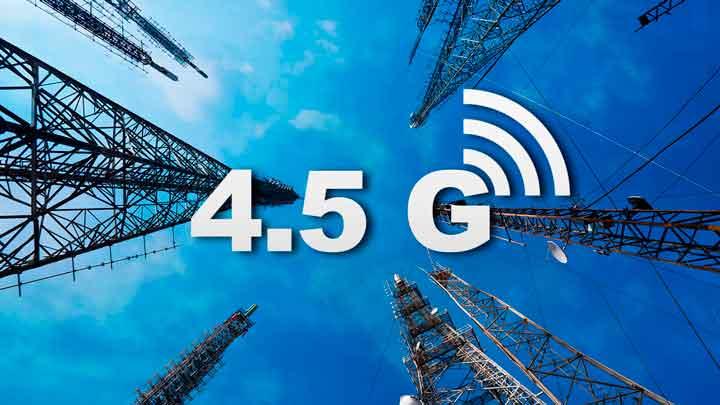 4.5G a nova tecnologia