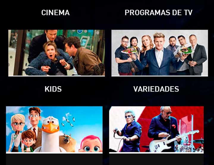 Claro TV livre programação