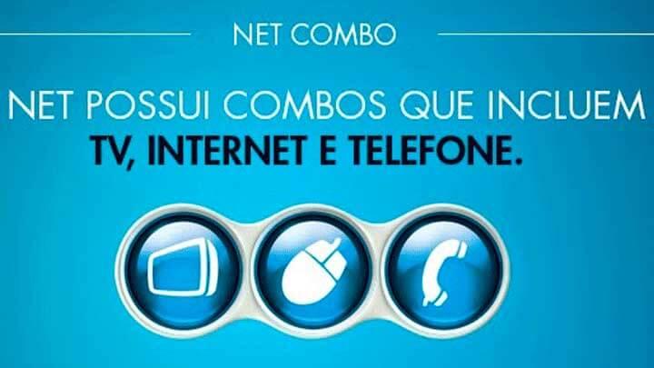 Telefone NET Combo