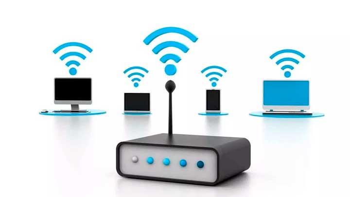 minha conexão WiFi