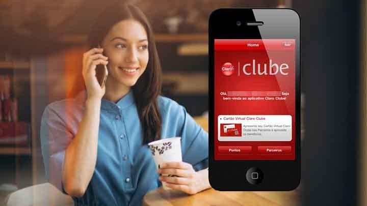 Claro Club trocar pontos