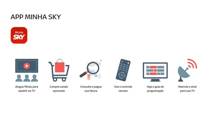 Benefícios Minha Sky