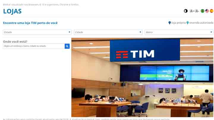 loja TIM