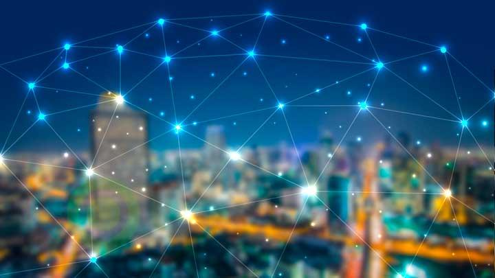Distribuição do sinal de internet NET e Vivo