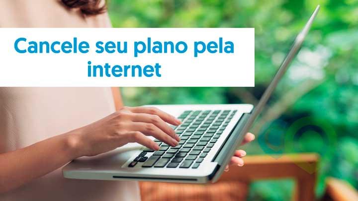 Cancelamento pela internet