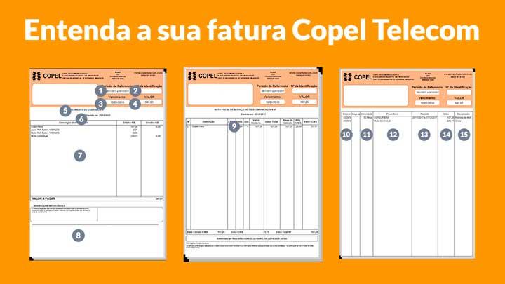 Copel Telecom 2ª via