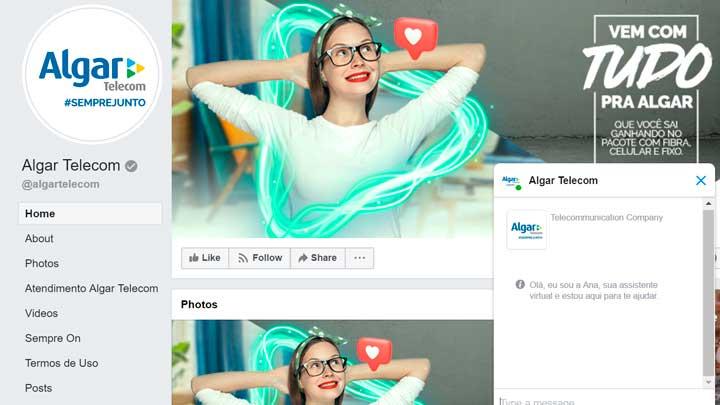 Facebook Algar Telecom