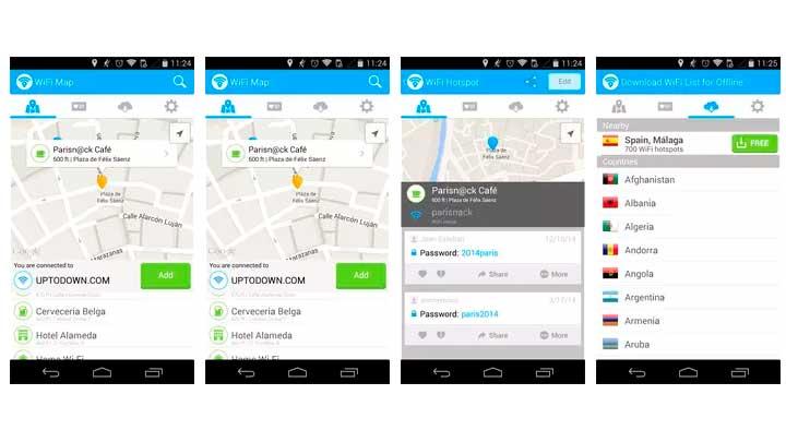 App de senhas Wi-fi